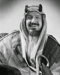 Abdulaziz Al-Saud, primeiro rei da Arábia Saudita