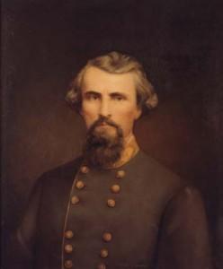 Nathan Bedford Forrest tenente general do exército confederado, o primeiro grande mago da KKK